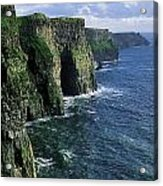 Cliffs Of Moher, Co Clare, Ireland Acrylic Print