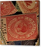 Closeup Of Classic British Empire Acrylic Print