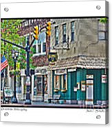 Downtown Willoughby Acrylic Print