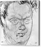 Dylan Thomas (1914-1953) Acrylic Print