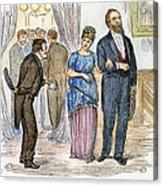 Election Cartoon, 1877 Acrylic Print
