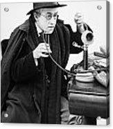 Film Still: Telephones Acrylic Print