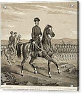 Franz Sigel (1824-1902) Acrylic Print