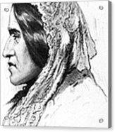 George Eliot (1819-1880) Acrylic Print