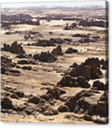 Giant Sandstone Outcroppings Deep Acrylic Print