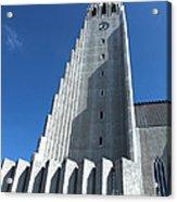 Hallgrimskirkja Church - Reykjavik Iceland  Acrylic Print