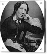 Harriet Beecher Stowe, American Acrylic Print by Photo Researchers