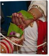 Hindu Wedding Ceremony Acrylic Print