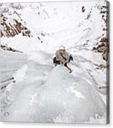 Ice Climber Acrylic Print
