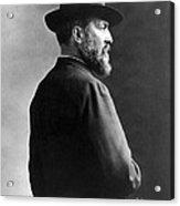 James A. Garfield, 20th American Acrylic Print