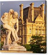 Jardin Des Tuileries Acrylic Print