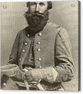 Jeb Stuart, Confederate General Acrylic Print