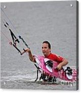 Kite Boarding Acrylic Print