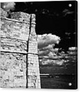 Larnaca Fort Dating From 1625 In Larnaka Republic Of Cyprus Europe Acrylic Print