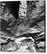Lava Tube Cave Acrylic Print