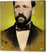 Louis Pasteur, French Chemist Acrylic Print by Science Source