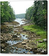 Low Tide In Maine Part Of A Series Acrylic Print