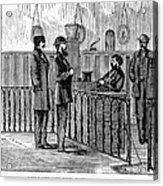 Ludlow Street Jail, 1868 Acrylic Print