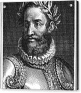 Luiz Vaz De Camoes (1524-1580) Acrylic Print