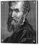 Michelangelo (1475-1564) Acrylic Print by Granger