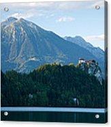 Mountain Backdrop Acrylic Print