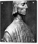 Niccolo Machiavelli Acrylic Print by Granger