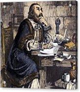 Nicholas Ridley (1500-1555) Acrylic Print