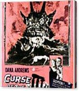 Night Of The Demon, Aka Curse Of The Acrylic Print