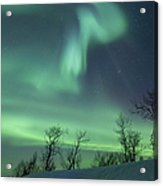 Northern Lights In The Arctic Acrylic Print