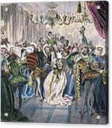 Perrault: Cinderella, 1867 Acrylic Print