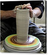 Pottery Wheel, Sequence Acrylic Print
