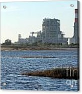Power Station Acrylic Print by Henrik Lehnerer