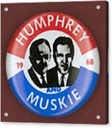 Presidential Campaign, 1968 Acrylic Print by Granger