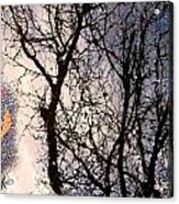 Puddle Art Acrylic Print