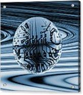 Quantum Computing Acrylic Print