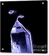 Quartz Crystal & Sparks Acrylic Print