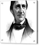 Ralph Waldo Emerson, American Author Acrylic Print