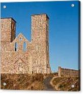 Reculver Towers Acrylic Print