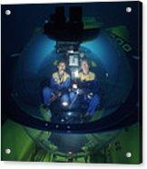 Research Submarine Acrylic Print
