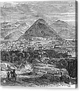 San Francisco, 1850 Acrylic Print