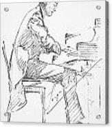 Sergei Rachmaninoff Acrylic Print