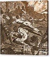 Siege Of Vicksburg, 1863 Acrylic Print by Photo Researchers