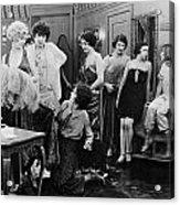 Silent Still: Showgirls Acrylic Print by Granger