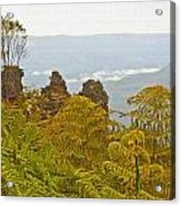 3 Sisters Blue Mountains Acrylic Print