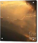 Sky Acrylic Print by Odon Czintos