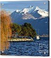 Snow-capped Mountain Acrylic Print