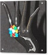 The Black Hand Acrylic Print