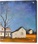 The Last Farm Acrylic Print
