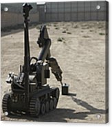 The Teodor Heavy-duty Bomb Disposal Acrylic Print