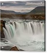 Waterfall Iceland Acrylic Print